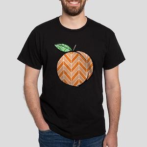 Chevron Peach T-Shirt