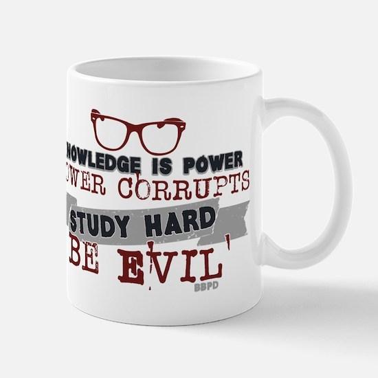 Study Hard Be Evil Mugs