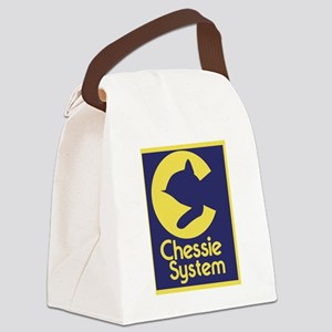 Chessie System Canvas Lunch Bag