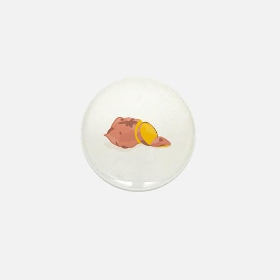 Yam Vegetable Mini Button