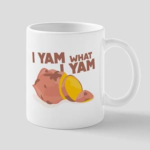 What I Yam Mugs