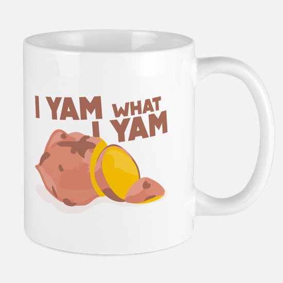 What I Yam Mugs
