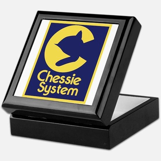 Chessie System Keepsake Box