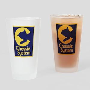 Chessie System Drinking Glass