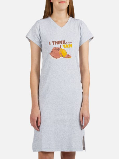 Think Yam Women's Nightshirt
