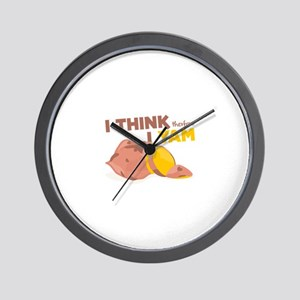 Think Yam Wall Clock