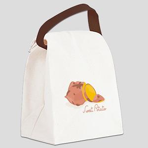 Sweet Potato Canvas Lunch Bag