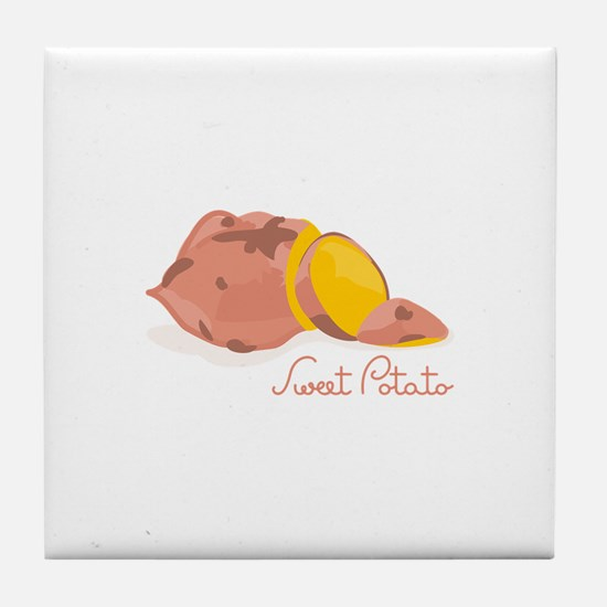 Sweet Potato Tile Coaster