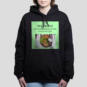 mahjong Women's Hooded Sweatshirt