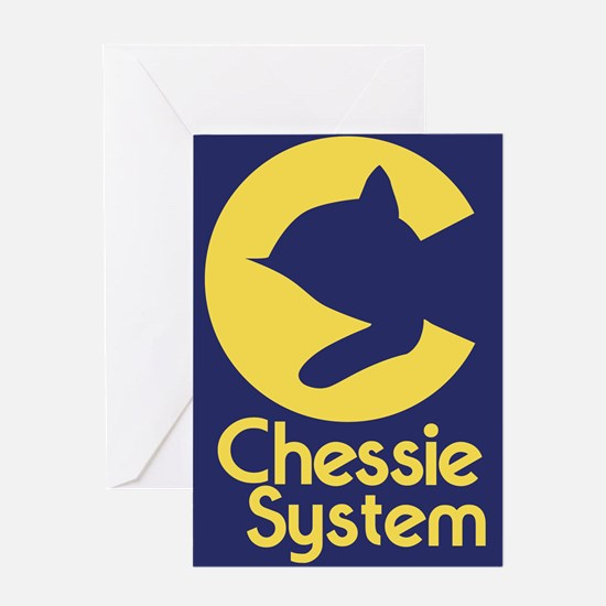 Chessie System Greeting Cards