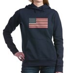 American Flag Women's Hooded Sweatshirt