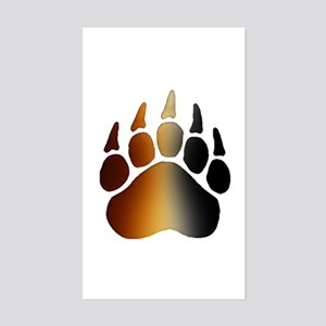 BEAR Paw 2 - Rectangle Sticker