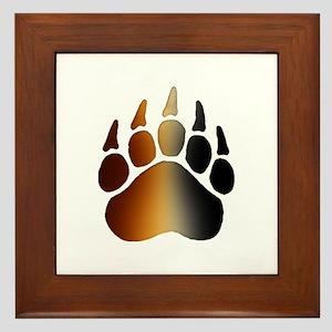 BEAR Paw 2 - Framed Tile