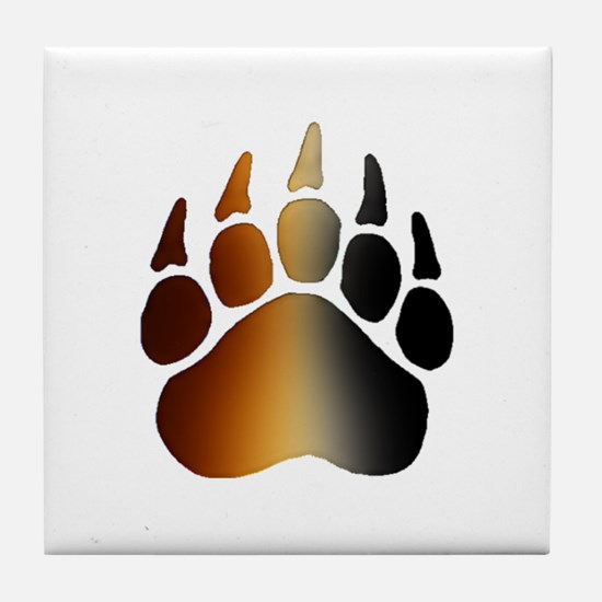 BEAR Paw 2 - Tile Coaster