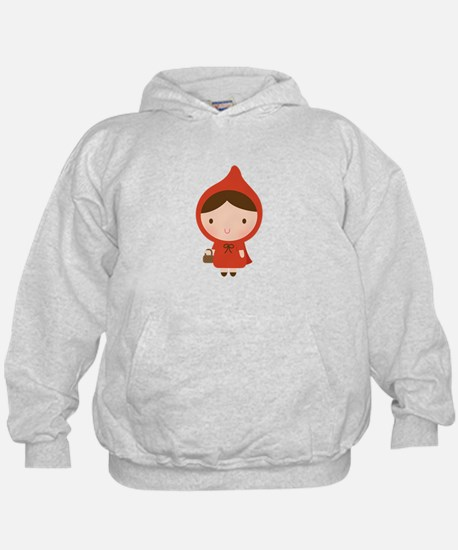 Cute Little Red Riding Hood Girl Hoodie