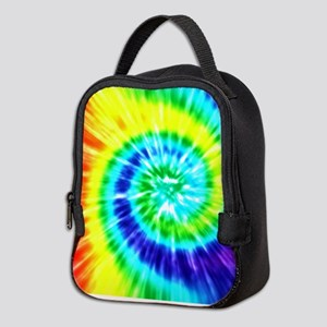 Rainbow Tie Dye Neoprene Lunch Bag
