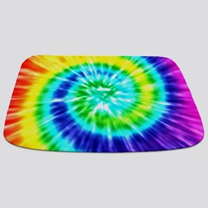 Rainbow Tie Dye Bathmat