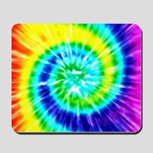 Rainbow Tie Dye Mousepad