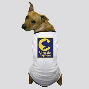 Chessie System Dog T-Shirt