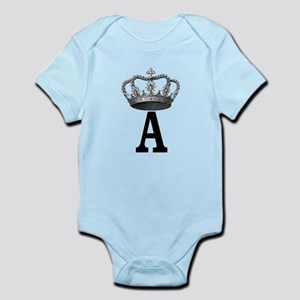 Royal Initial Body Suit