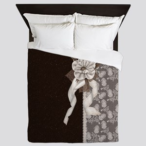 Brown Elegance Queen Duvet