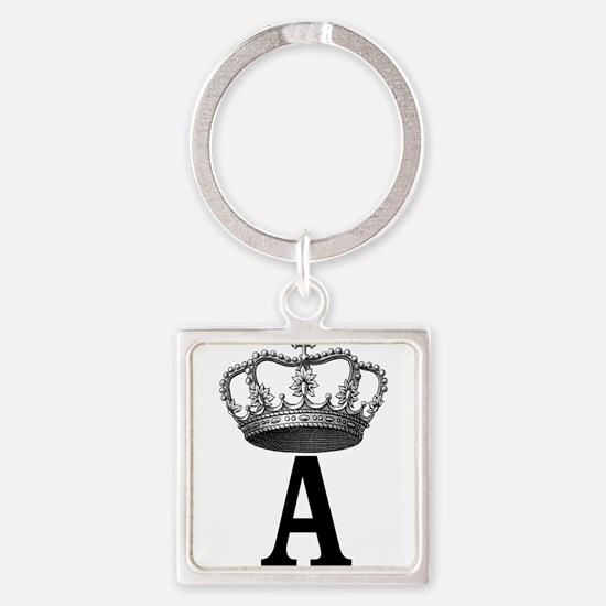 Royal Initial Keychains