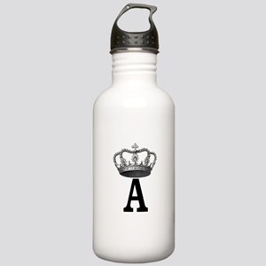 Royal Initial Water Bottle