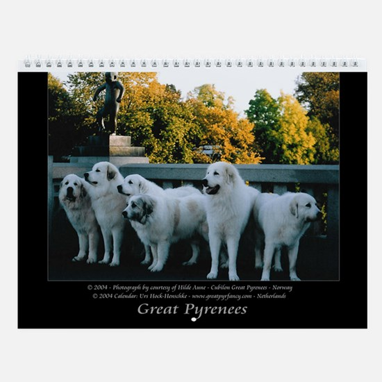 Great Pyrrenees Wall Calendar I