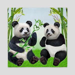 LOVING PANDAS Queen Duvet