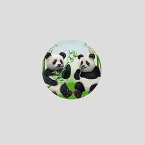 LOVING PANDAS Mini Button
