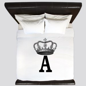 Royal Initial King Duvet