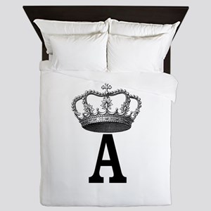 Royal Initial Queen Duvet