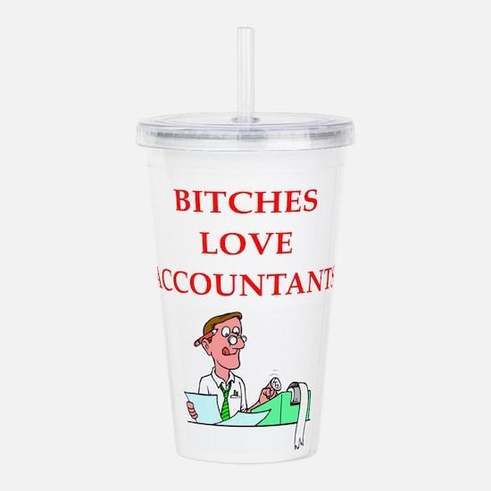 accountantt Acrylic Double-wall Tumbler