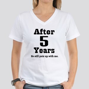 5years_black_he T-Shirt
