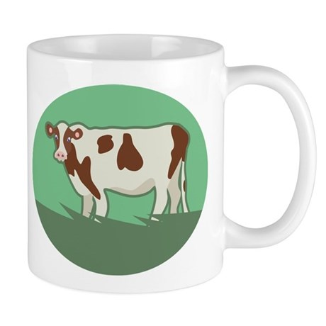 Grazing Cow Gift Mug