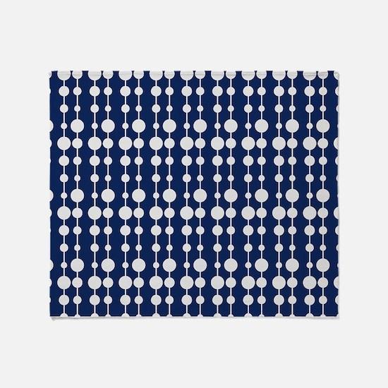 Polka Dots Pendant Pattern Throw Blanket