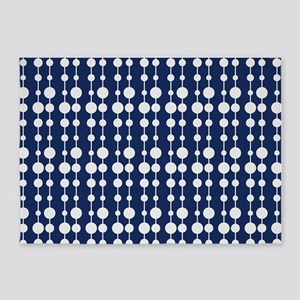 Polka Dots Pendant Pattern 5'x7'Area Rug