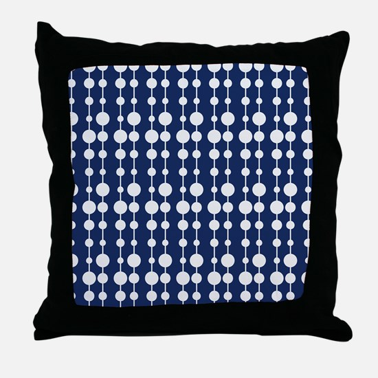 Polka Dots Pendant Pattern Throw Pillow