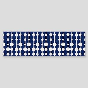 Polka Dots Pendant Pattern Sticker (Bumper)