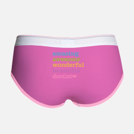 Cute Dentist Women's Boy Brief