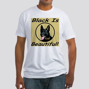 GSD Black Is Beautiful! Fitted T-Shirt