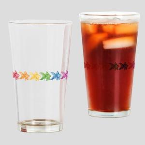 Rainbow Goldfish Drinking Glass