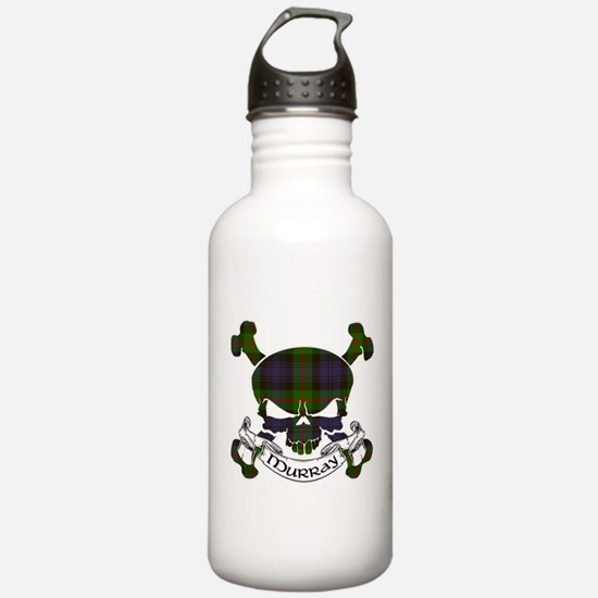 Murray Tartan Skull Water Bottle