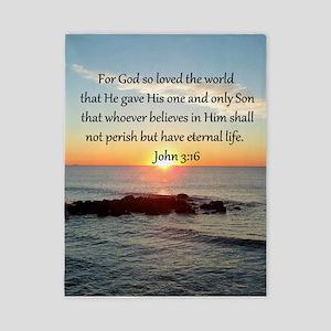JOHN 3:16 Twin Duvet