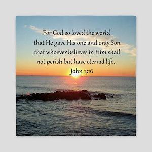JOHN 3:16 Queen Duvet