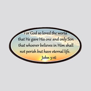 JOHN 3:16 Patches