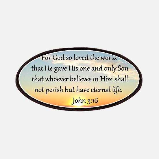 JOHN 3:16 Patches
