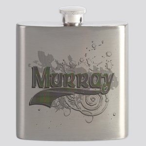 Murray Tartan Grunge Flask