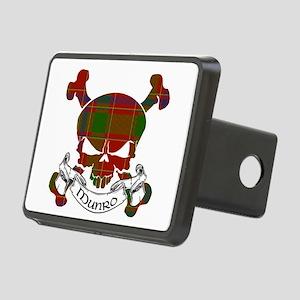 Munro Tartan Skull Rectangular Hitch Cover