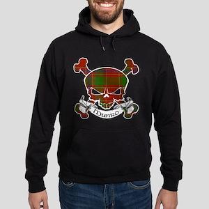 Munro Tartan Skull Hoodie (dark)
